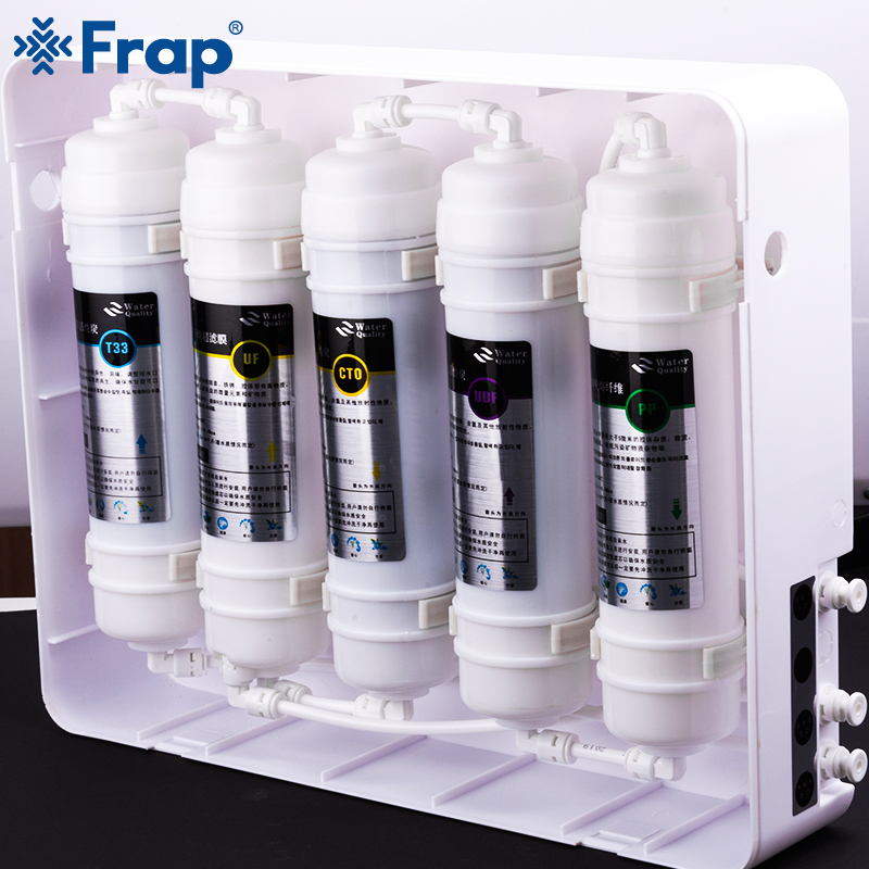 Frap Kitchen Filtration Fixture Water Filtration Replacement Filter Household Kitchen Purifier Water Filters System