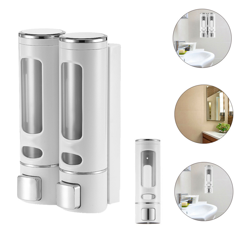 Soap Dispenser Transparent 400ML 800ML Liquid Soap Dispenser Plastic Soap Dispenser & Bottle For Kitchen Bathroom Soap Pump