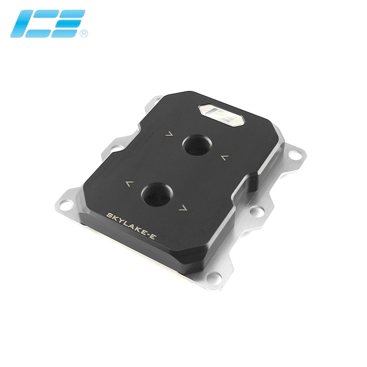 INTEL LGA3647 Processor CPU water cooling Block cooler Narrow Square type Pure copper POM IceMan Cooler
