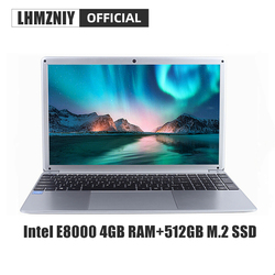 Lhmzniy RX-5 Mahasiswa Laptop 15.6 Inch FHD IPS Layar Intel E8000 4GB RAM 256GB M.2 SSD Netbook 1080P