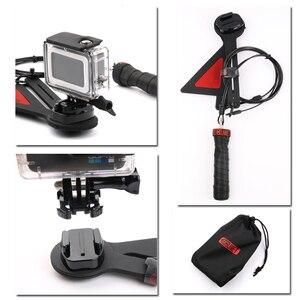 Image 5 - ل Gopro سنتريفون رصاصة الوقت تأثير كاميرا تلاعب Selfie 360 درجة ل Gopro بطل 8 7 6 5 4 EKEN يي Sjam الرياضة عمل الكاميرا