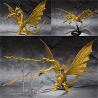 Gojira S.H. Monsterarts Special Color Version Movable doll Movie King Figures Model for Kids Children gift