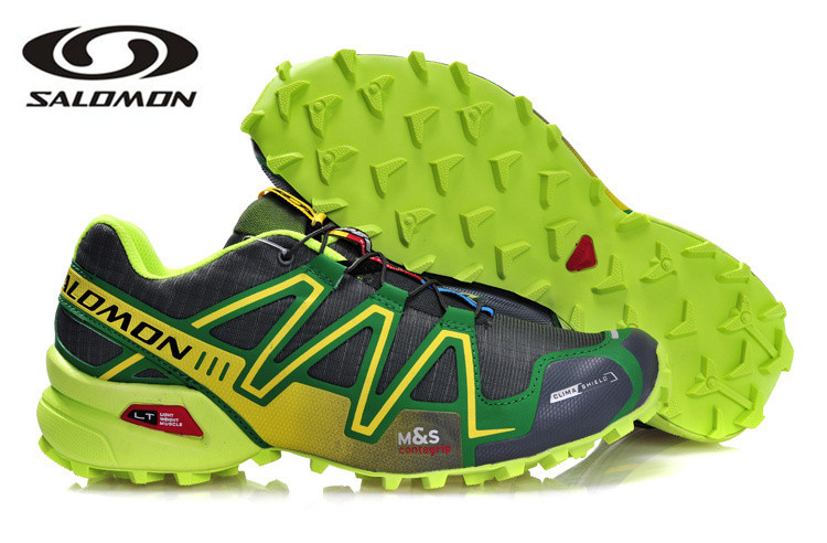 Livraison gratuite Salomon Speed Cross 3 chaussures de sport de plein air sp4 chaussures d'escrime pour hommes eur 40-45 chaussures de course pour hommes de fond