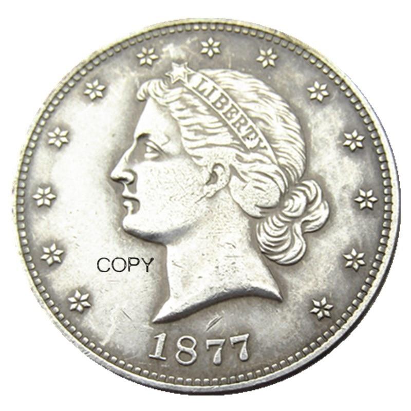 USA 1877 Paguet Head Half Dollar Patterns Silver Plated Copy Coin