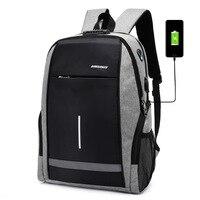 Anti Theft Laptop Backpack With USB Port Women Men Backpacks 15.6 Notebook Bag Pack For School Waterproof Bagpacks For Teenage