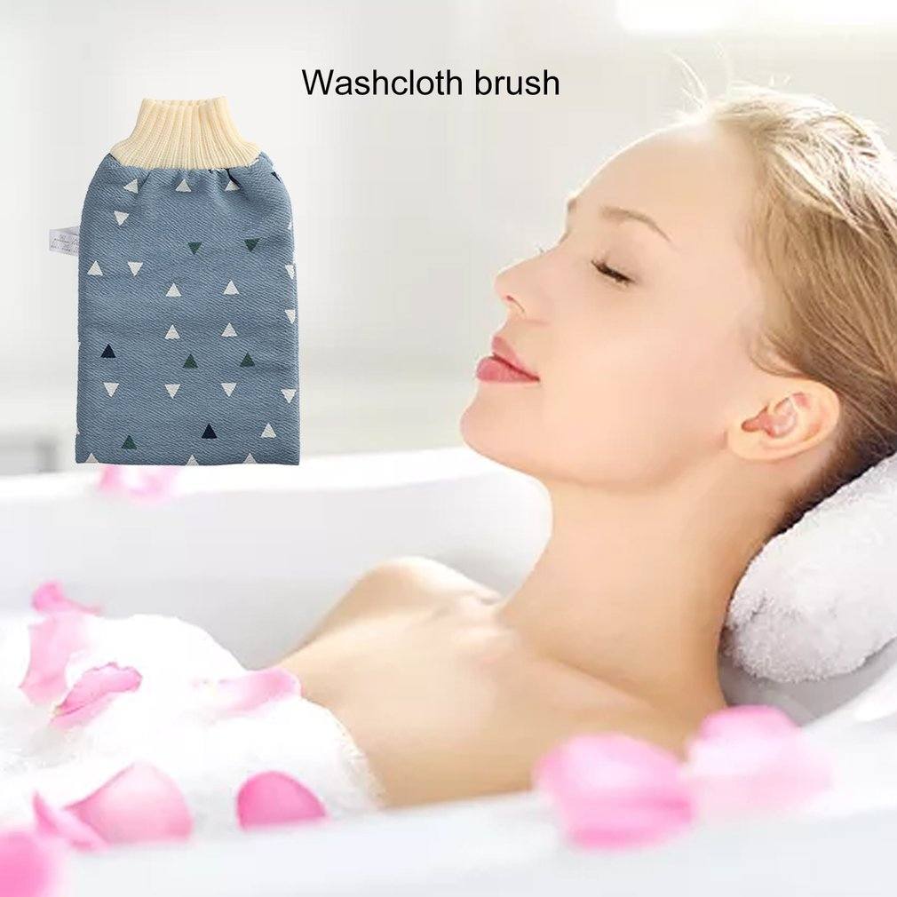 Красота кожа ванна мытье полотенце отшелушивание ванна тряпка душ мочалка для тела массаж ванна ткань для женщин и мужчин