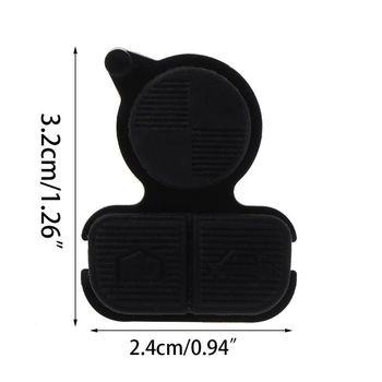 1Pc Replacement Remote Key Keyless Buttons 3 Button Pad Fit For BMW E38 E39 E36 E7CA image