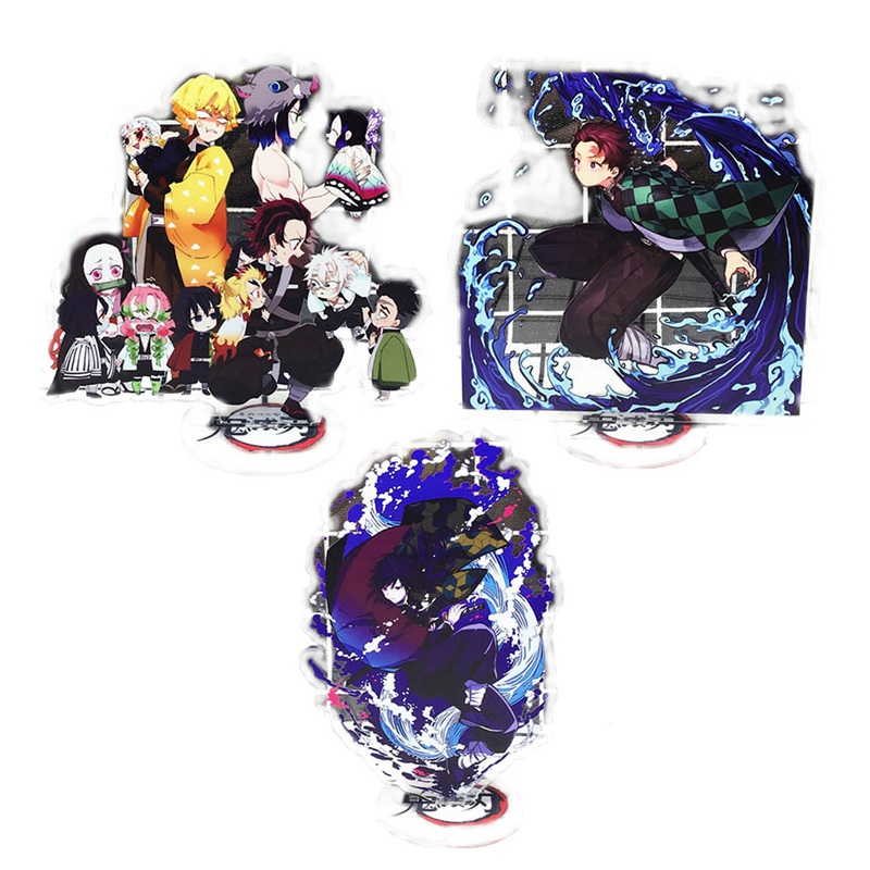 Japan Anime Demon Slayer: Kimetsu No Yaiba Kamado Tanjirou Kamado Nezuko Acrylic Stand Figure Model Desk Decor Toy Gifts