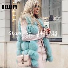 Vintage Hot Sell Women Real fur Vest  Customized PLUS SIZE  genuine Fur Gilets jackets Natural Fox Fur Coat