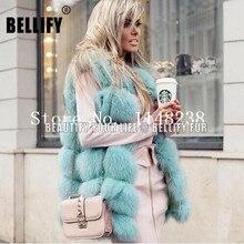ヴィンテージホット販売女性リアルファーベストカスタマイズされたプラスサイズ本物の毛皮giletsジャケットキツネの毛皮のコート