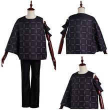 Костюм для косплея джутсу cos Kaisen Mahito, брюки, топ, наряды, костюм на Хэллоуин, карнавал