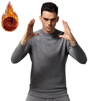 Thermal underwear men winter keep warm sets cotton outside long johns Asian size M to 4XL