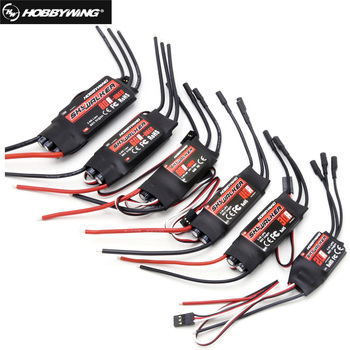 Hobbywing Skywalker 40A 50A 60A 80A 15A 20A 30A ESC Speed Controller With UBEC For RC Airplanes Helicopter raptor raptor 20a esc speed controller for rc multicopter multirotor parts