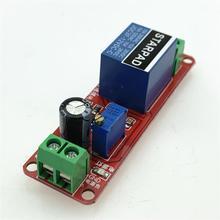 NE555 Delay Module 12V5V Conduction Relay Module Delay Monostable Switch Car 1-10 Seconds Delay