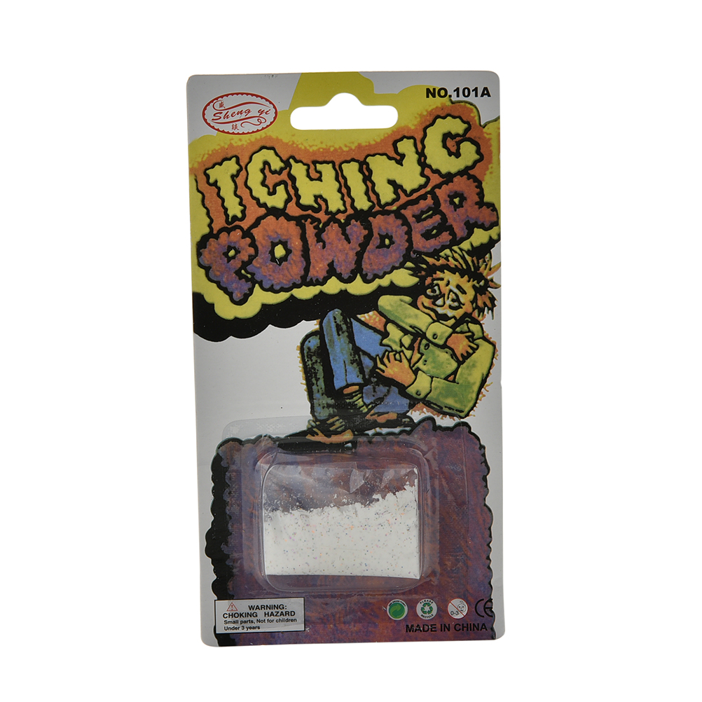Itch Itching Powder Packages Prank Joke Trick Gag Funny Joke Magic Trick