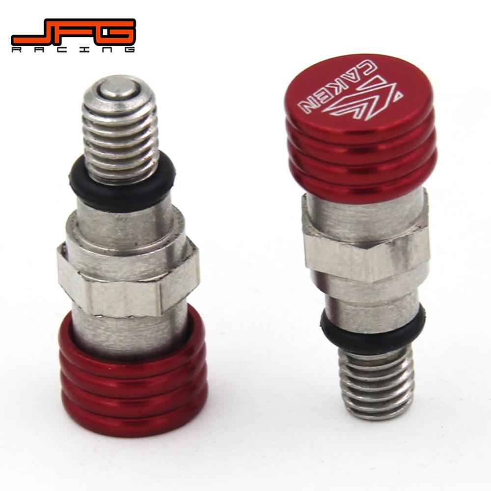 Клапан сброса воздуха вилки M5 0,8 мм для HONDA CR125, CR150, CR250, CR500, CRF230F, CRF250R, CRF250X, CRF450R, CRF450X, CRF, 450R, 450X
