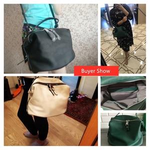Image 5 - Vento Marea Crossbody Bags For Women 2018 Pu Leather Black Designer Purses &Handbags Korean Style White Hobo Shoulder Messenger