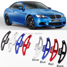 цена на 2pcs High Quality  Car Steering Wheel Shift Paddle Shifter Extension For BMW M3 2009-2013