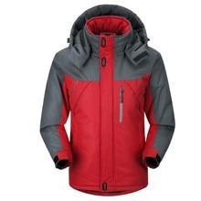 Men's Jacket Winter Waterproof Men's Hiking Jacket Warm Coat Men's Thick Hooded Parkas