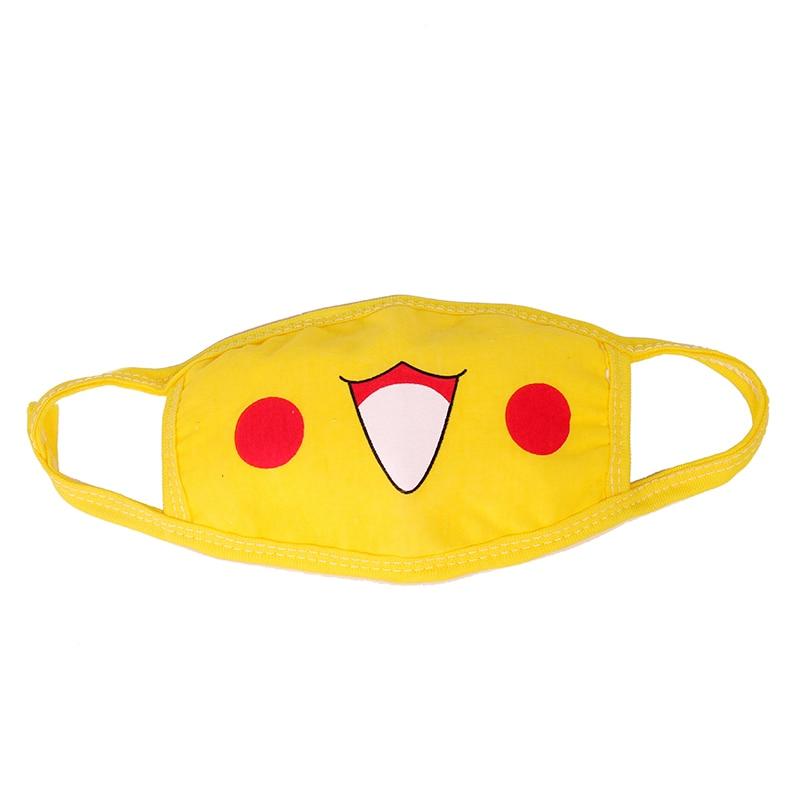 Hot Anime Pokemon Pocket Monsters Pikachu Cosplay Mouth-muffle Kawaii Anti-Dust Winter Face Dustproof Breathable Mask