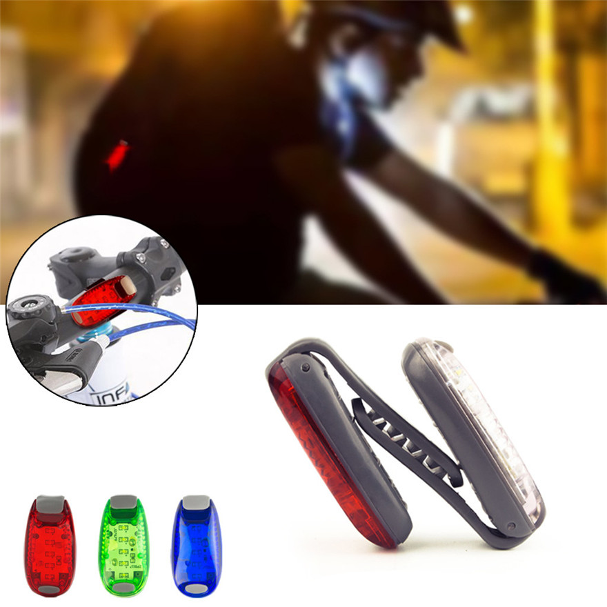 Led-Light Bicycle Helmet Jogging Running Safety And Outdoor Reminder Durable title=