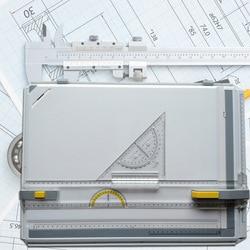 Manuelle Zeichnung Bord Zeichnung Tisch mit Zubehör Zeichnung Kopf Entwurf Malerei Platte VH99