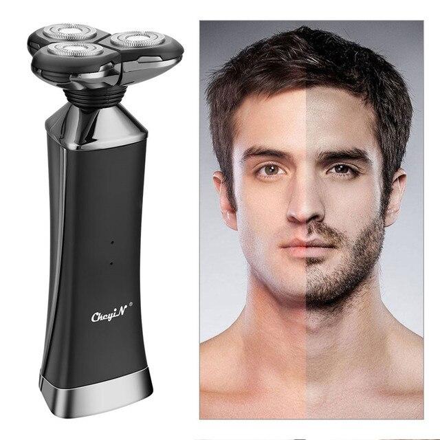 Электрическая бритва с быстрой зарядкой для всего тела, водонепроницаемая электробритва для влажной сушки, мощная бритвенная машина двойного назначения для мужчин, триммер для бороды 31