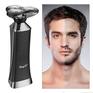 Image 1 - Quick Charge Electric Razor Whole Body Waterproof Electric Shaver Wet Dry Dual Use Powerful Shaving Machine Men Beard Trimmer 31