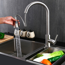 Faucet Polished Chrome Kitchen Pull Down Sprayer  Spout Mixer Tap 360 Degree Swivel Pipe ABS Filter Bubbler Kitchen Faucet