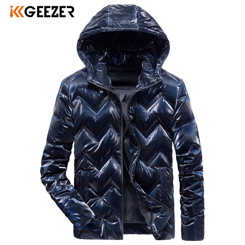 Winter Jackets Down Men New 2019 Thick Warm Red Windbreak Solid Color Duck Business Waterproof Black Top Quality Coat Padded