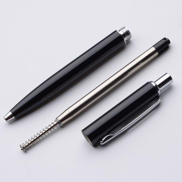 Baoer 037 Ballpoint Pen Metal Black Silver Gold Ball Pen Luxury Business Gifts Student School Supplies Roller Pen 10 Customiza 5