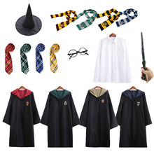 Granger CosplayMagic Robe Cloak Skirt Sweater Shirt Scarf Tie Wand Necklace Kids Adult Gift Cosplay Haloween Costumes