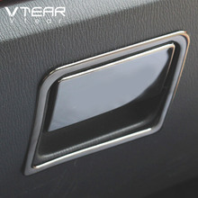 Vtear For Mazda CX-5 CX5 KF 2020 2017 2018 Accessories Interior Mouldings Car Glove Handle Trim Panel Cover Car Styling