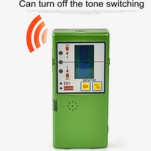 Level Detector Receiver For 12 Line 3D Red Green Vertical with Clamp FD-6G/FD-9G Outdoors Can Receive 50 Meters
