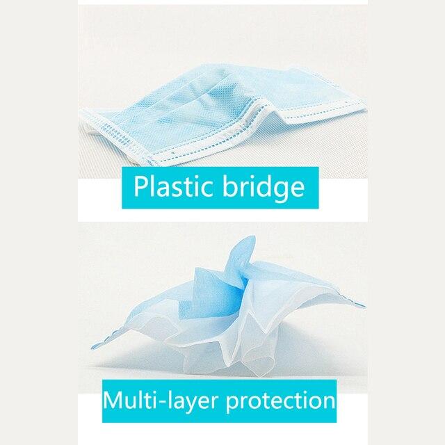 Individual mask Protective Face Mouth Masks flu mask mouth caps anti pollution Protective korea NON kf94 disposable pm 25 half 4