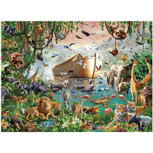 Fidget Toys Jigsaw-Puzzle 5000pieces 3000 4000 Board-Games Animals Difficult Adults Children