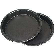 10 In Runde Deep Dish Pizza Pan Pie Tablett Backen Werkzeug Nicht-Stick Durable(China)