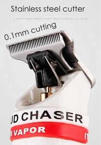 Image 5 - Tagliacapelli professionale a batteria Trimmer barba rasatura per uomo barbiere tosaerba elettrica 0.1mm tagliacapelli 7000 giri/min
