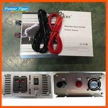 Высокая мощность TBE Авто Чистая синусоида Инвертор 1000 Вт 12 В 24 в 48 В переменного тока 110 В 220 В с адаптером шнура питания