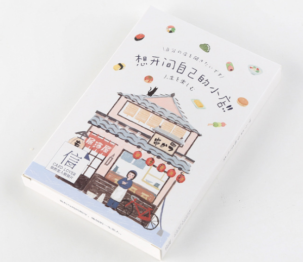 P130- Open Store Paper Postcard(1pack=30pieces)