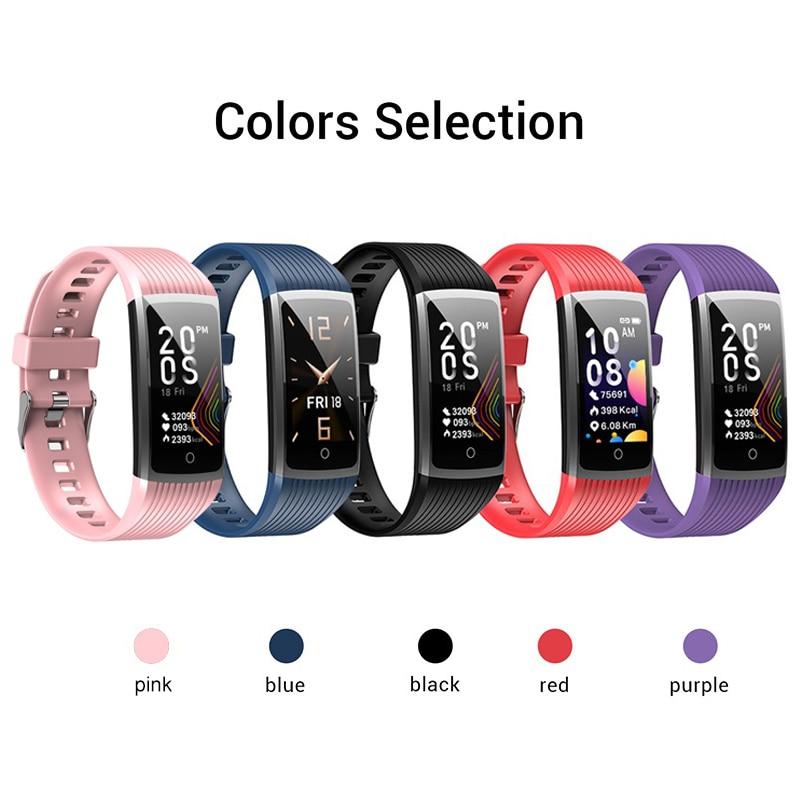 H139a5d73d8594f08b18d61d1b5d09e18M R12 Smart Band Bracelet Fitness Bracelet with Pressure Measurement Health Wristband Pedometer Heart Rate Monitor Cardio Bracelet
