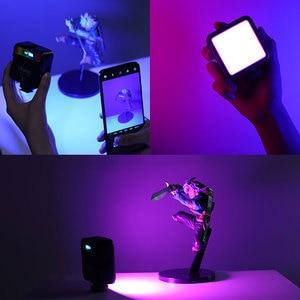 Image 3 - Orsda Ulanzi VL49 מיני וידאו אור תאורת עבור צילום 2000mAh 2500K 9000K RGB LED וידאו מצלמה אור Vlog למלא אורות לחיות