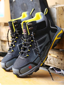 Work-Boots Safety-Shoes Protective Steel-Toe LARNMERN Breathable Mens Lightweight Anti-Puncture