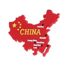 Fridge Magnet Souvenir Refrigerator Kitchen-Decor Gifts China Home Modern Flag-Map Chinese-Style