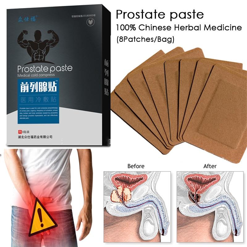 parche de prostatitis urológica