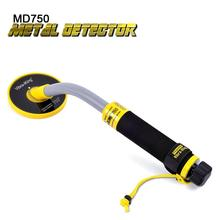 Vibra-iking 750 30M Hand-hold Induction (PI)  Pinpointer Gold Metal Detector Fully Waterproof Treasure Hunter Precise Underwater pi iking 740 pulse targeting pinpointer pro pointer technology metal detector waterproof underwater metal detector