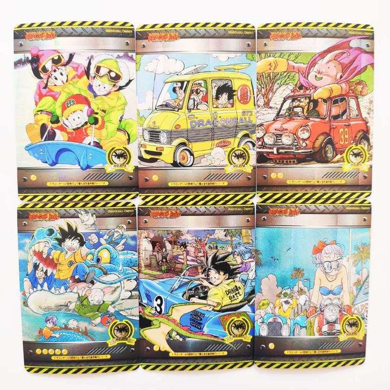 37pcs/set Super Dragon Ball Z Heroes Vehicle Fifth Battle Card Ultra Instinct Goku Vegeta Game Collection Cards Free Shipping