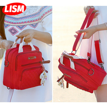 Multifunction Diaper Bag Backpack Mother Care Hobo Bag Baby Stroller Nappy Bags Travel Backpack Small Volume but Large Capacity