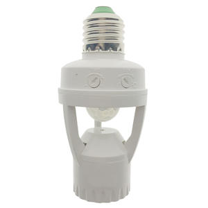 Lamp-Holder Motion-Sensor 110-220V Socket-Switch Induction Infrared Pir E27 Human Plug