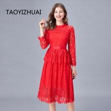 Новое Кружевное платье для полных сестер средней длины размера